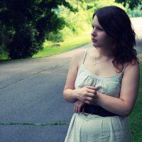 Dziewczyna w parku